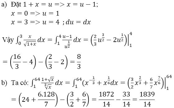 Giải bài tập sgk-Lời giải: